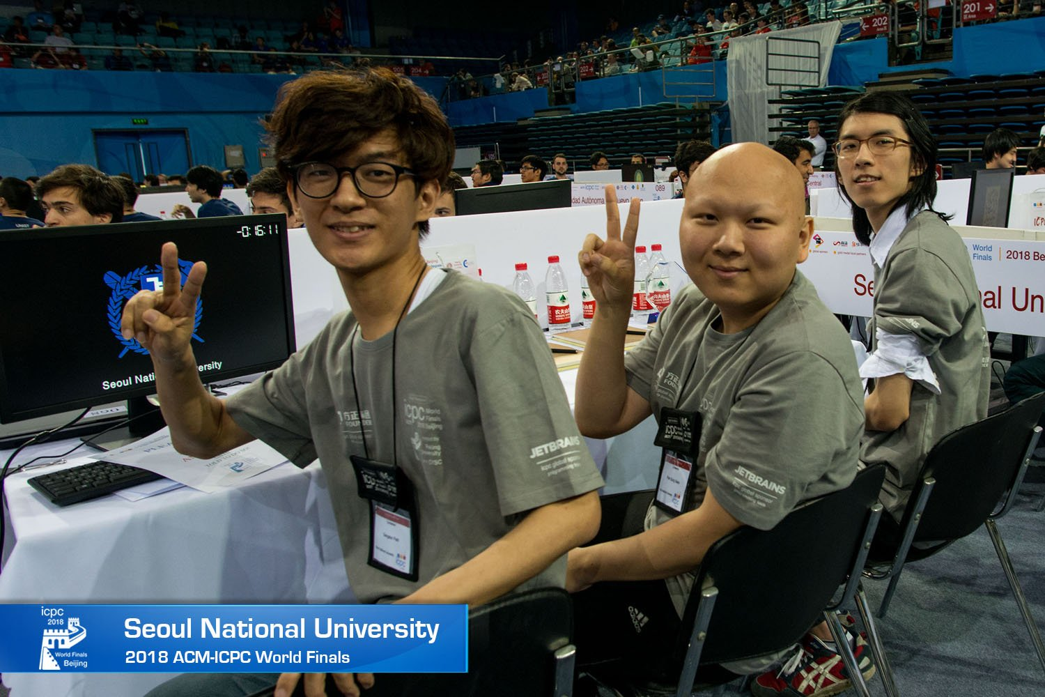 SNU Wins a Medal at the International Collegiate Programming Contest