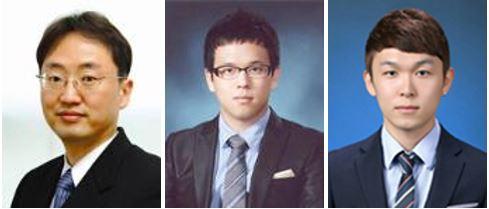 서울대 전기정보공학부 홍용택 교수팀: (왼쪽부터) 홍용택 교수, 변정환 연구원, 오은호 연구원
