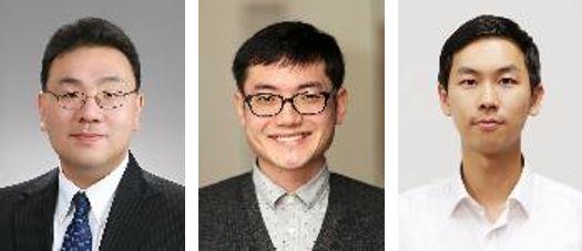 김성재 교수, 이효민 BK교수, 김준석 연구원