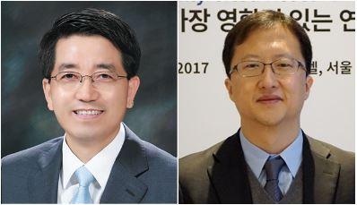 서울대 화학생물공학부 현택환 교수(좌), 최장욱 교수(우)