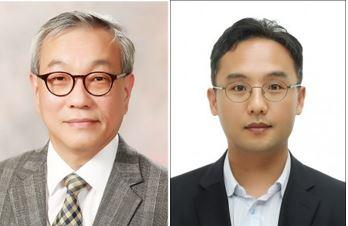서울대 전기정보공학부 김성준 교수(좌), 하정익 교수(우)