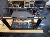 2개의 extruder를 가진 3D 프린터와 적층 알고리즘