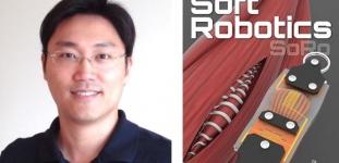 서울대 박용래 교수팀, 생체 근육의 감각기관을 모사한 소프트 센서 내장된 인공 근육 개발